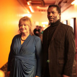Isaach de Bankoleé with Tiina Lokk, Festival Director
